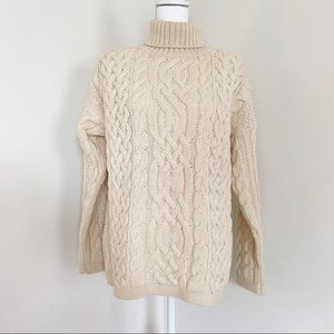 Vintage McKennas Wool Chunky Turtleneck Sweater